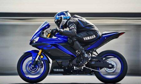 Yamaha 250 4-cylinder bike