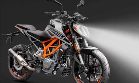 BS6 KTM Duke 250 LED Headlamp