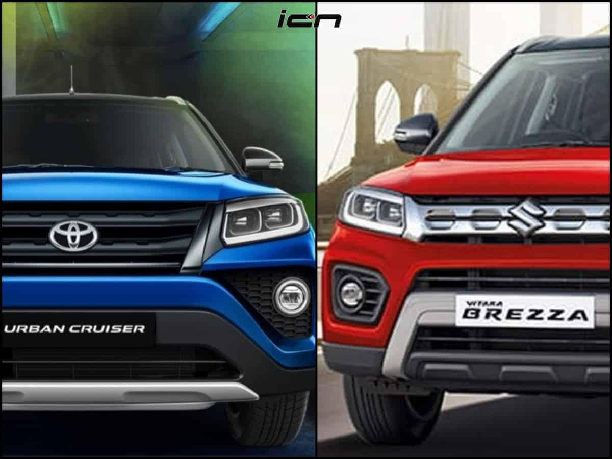 Toyota Urban Cruiser Vs Maruti Vitara Brezza Key Differences