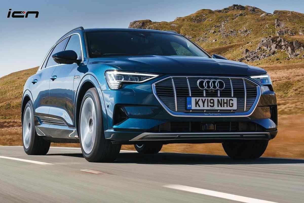 Audi e-tron India
