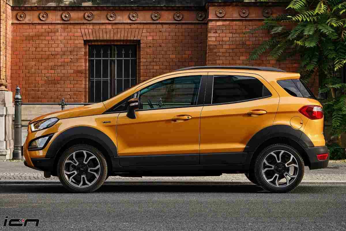 Ford EcoSport Active Specs