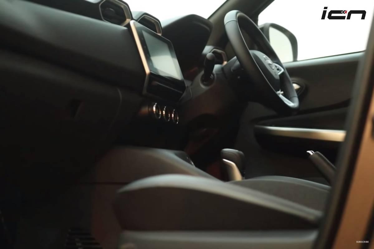Nissan Magnite All-Black Interior