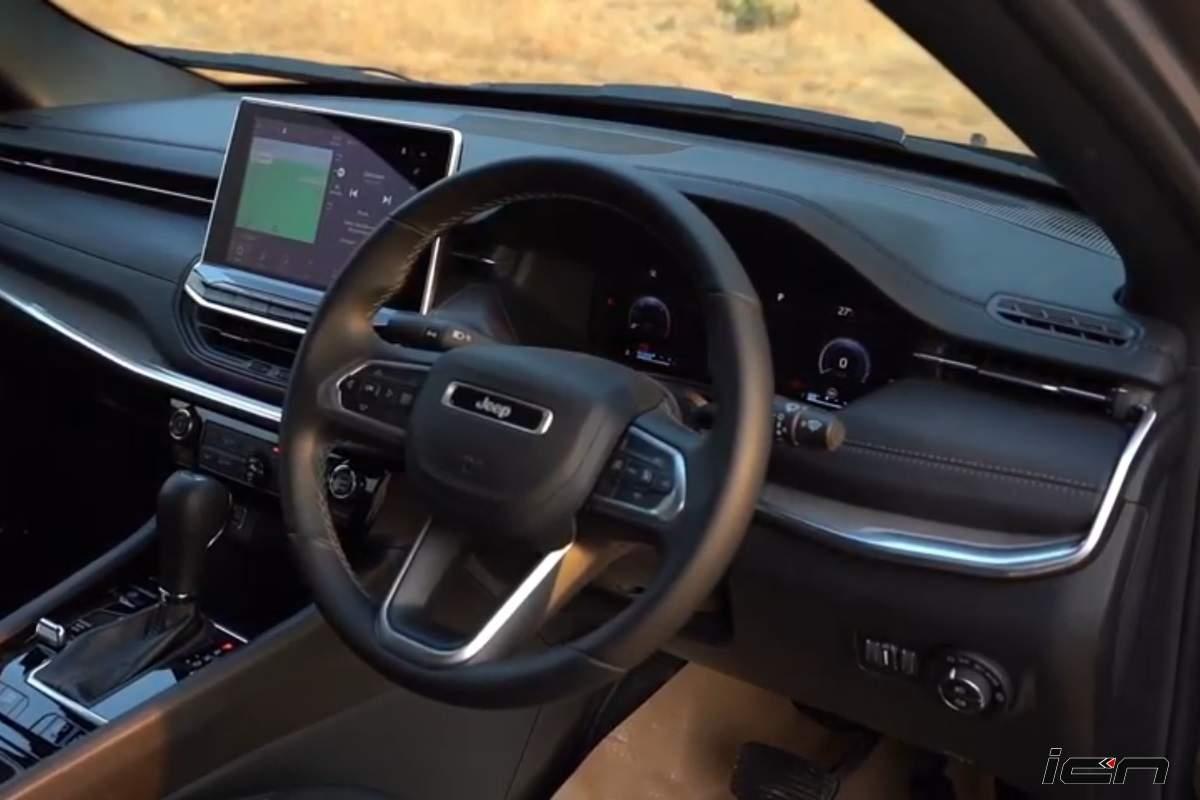 2021 Jeep Compass Facelift touchscreen