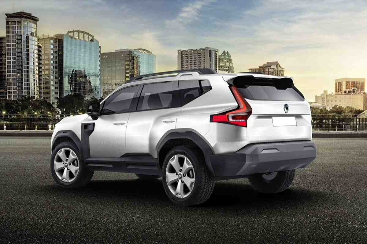 Renault Grand Duster Rendered 2