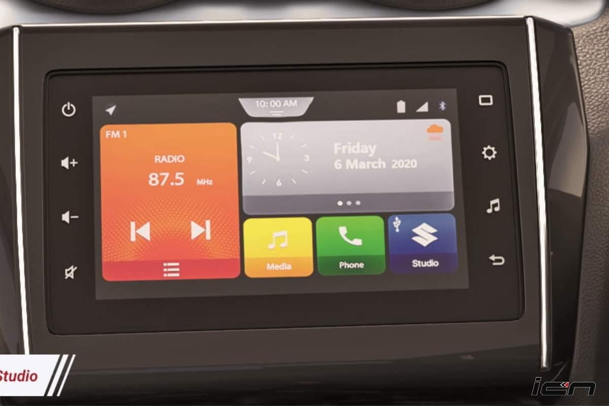 2021 Maruti Swift Touchscreen