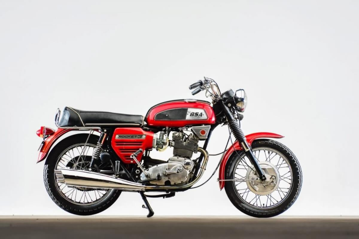 BSA Motorcycle Launch