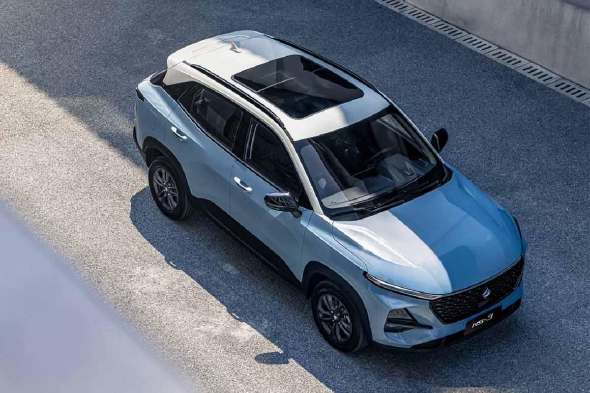 New MG Compact SUV