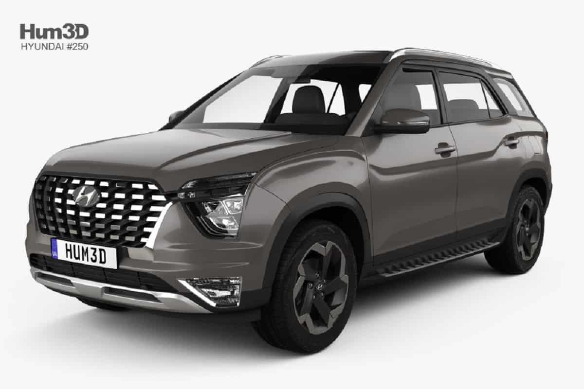 Hyundai Alcazar 3D model