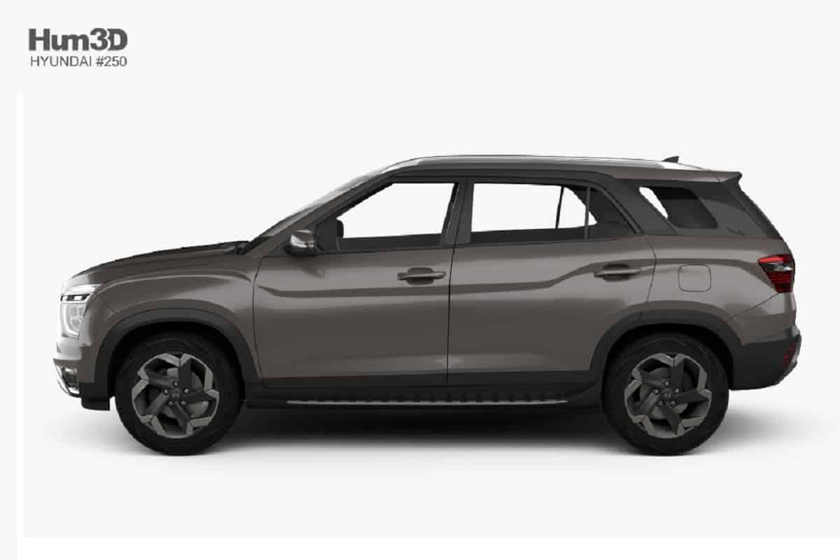 Hyundai Alcazar 7 seater SUV