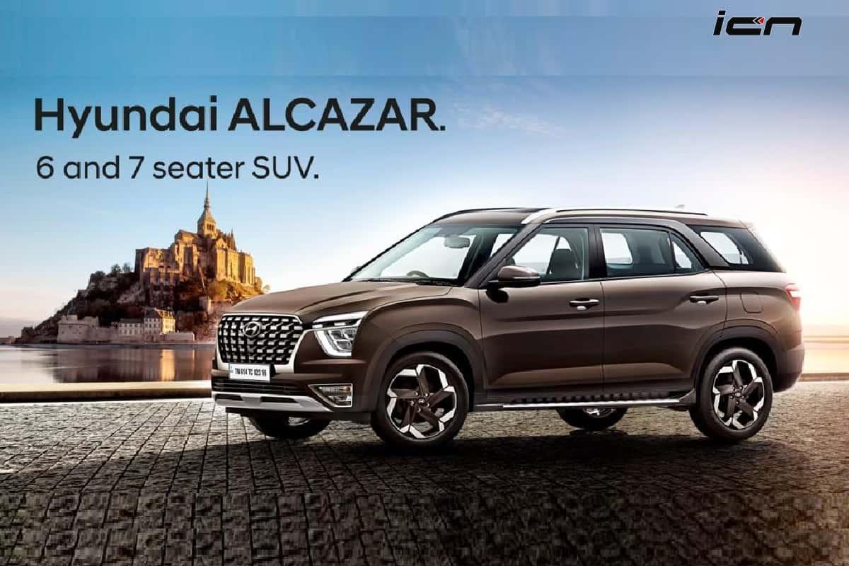 Hyundai Alcazar 6 seater