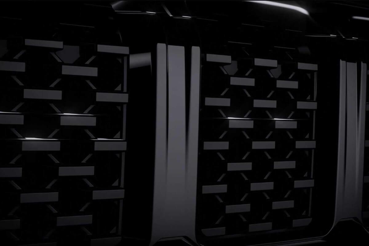 Jeep Commander Front grille teased (1)