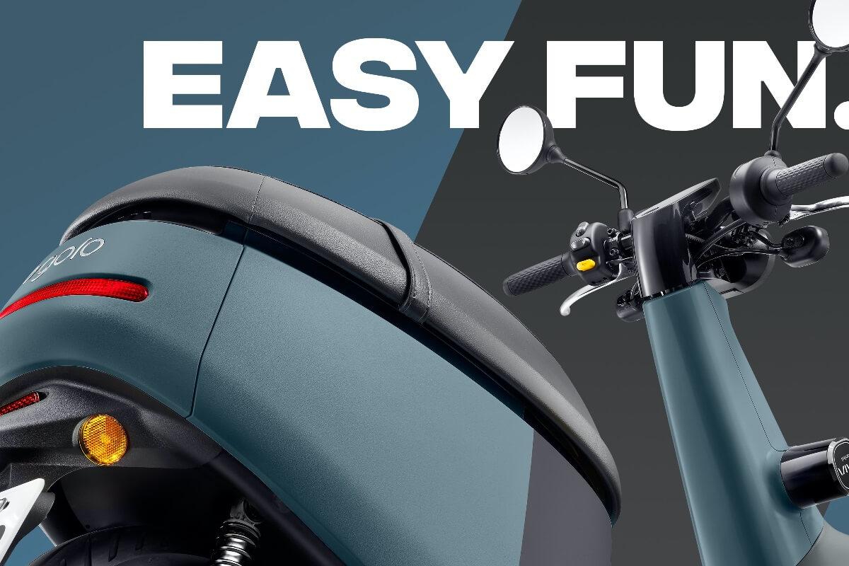 Gogoro Viva Electric Scooter design