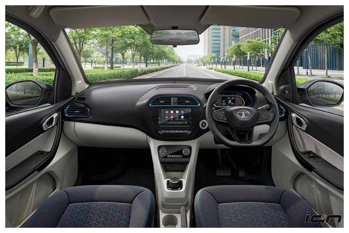 Nuevo interior eléctrico Tata Tigor