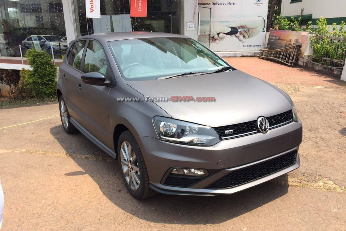 Volkswagen Polo Matte Edition pictures